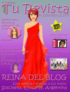 Cuarta Reina del Blog y 1º portada de Revista